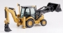 Side shift backhoe loader CAT432E